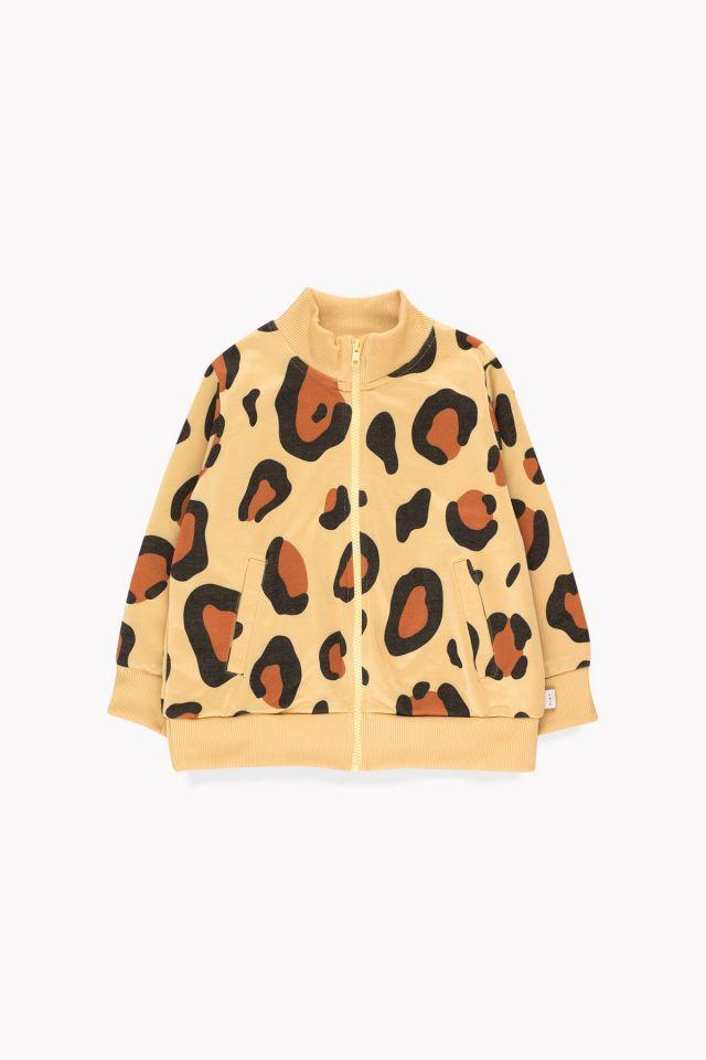 Tinycottons Animal Print Jacket Sand/Brown