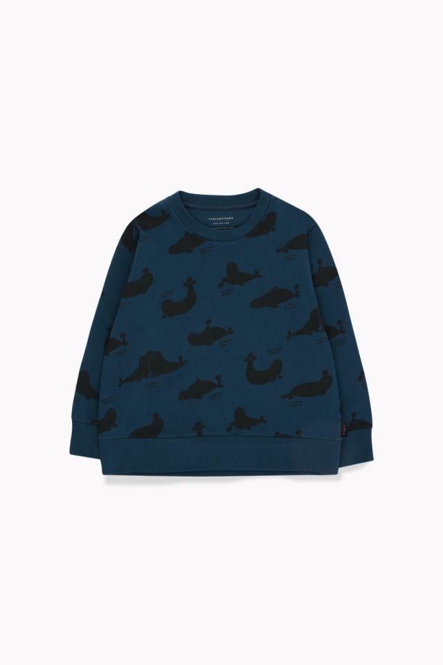 Tinycottons Seals Sweatshirt True Navy/Black