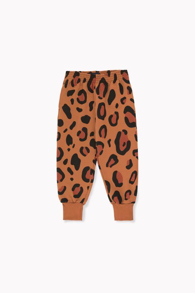 Tinycottons Animal Print Sweatpant Brown/Dark Brown