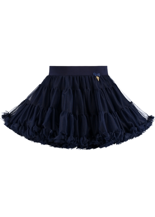 Angel's Face Charm tutu skirt navy