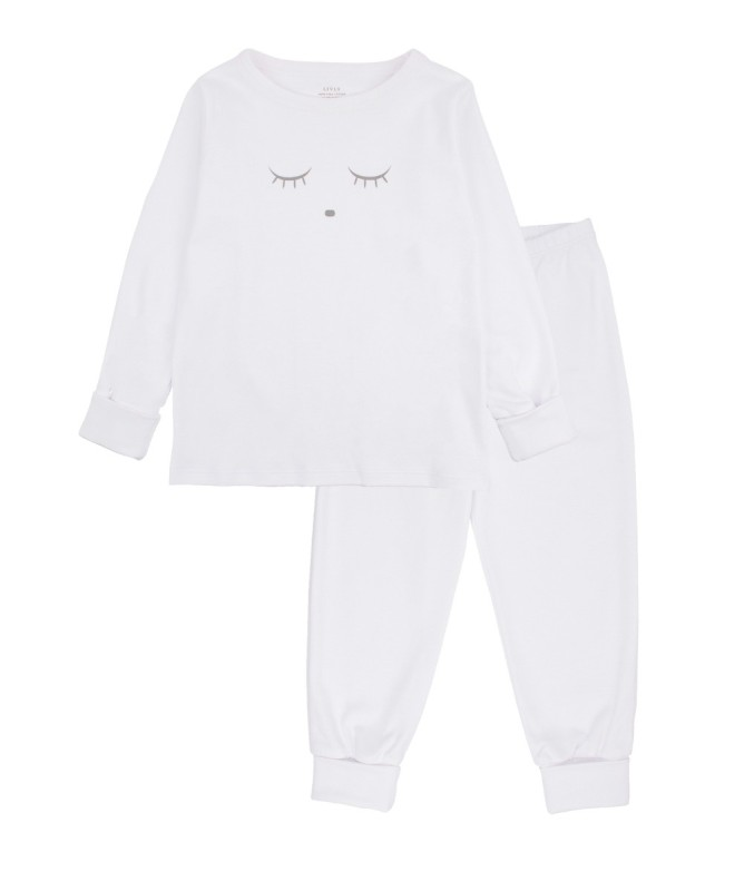 Livly Sleeping Cuite 2 Piece Set White/Grey