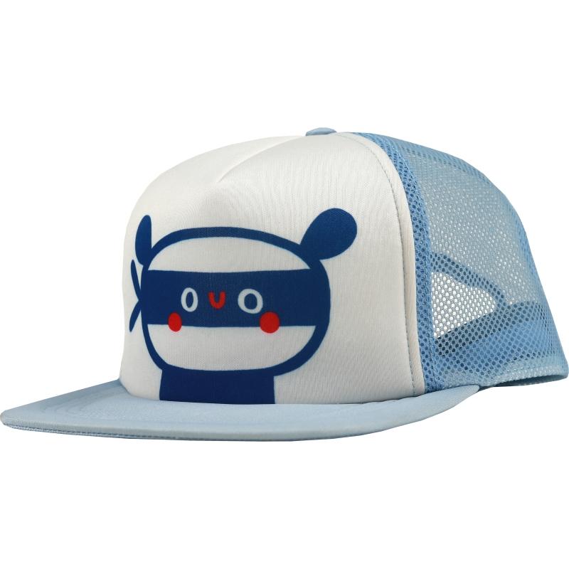 Kukukid cap light blue panda