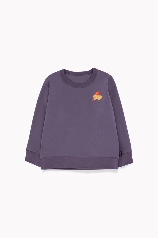 Tinycottons Luckyphant Sweatshirt Dark Lilac/Sand
