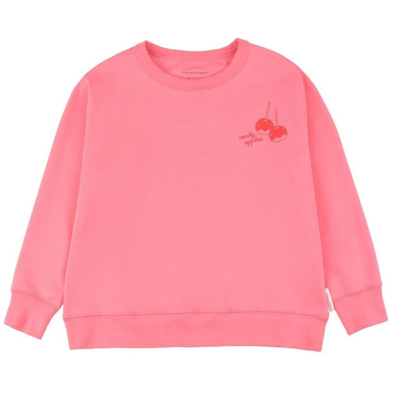 Tinycottons Candy Apples Sweatshirt Rose/Red
