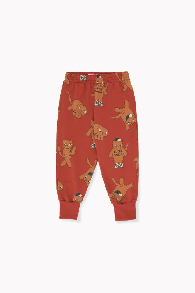 Tinycottons Cats Sweatpant Dark Brown/Brown