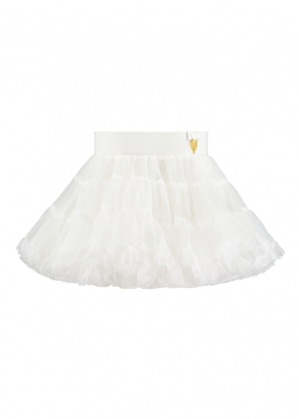 Angel's Face Charm Tutu white