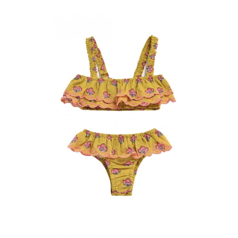 Louise Misha Bikini Caribbean Safran Flowers