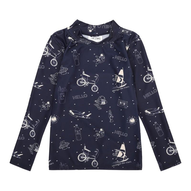 Soft Gallery Kids Astin Sun Shirt Dress Blues