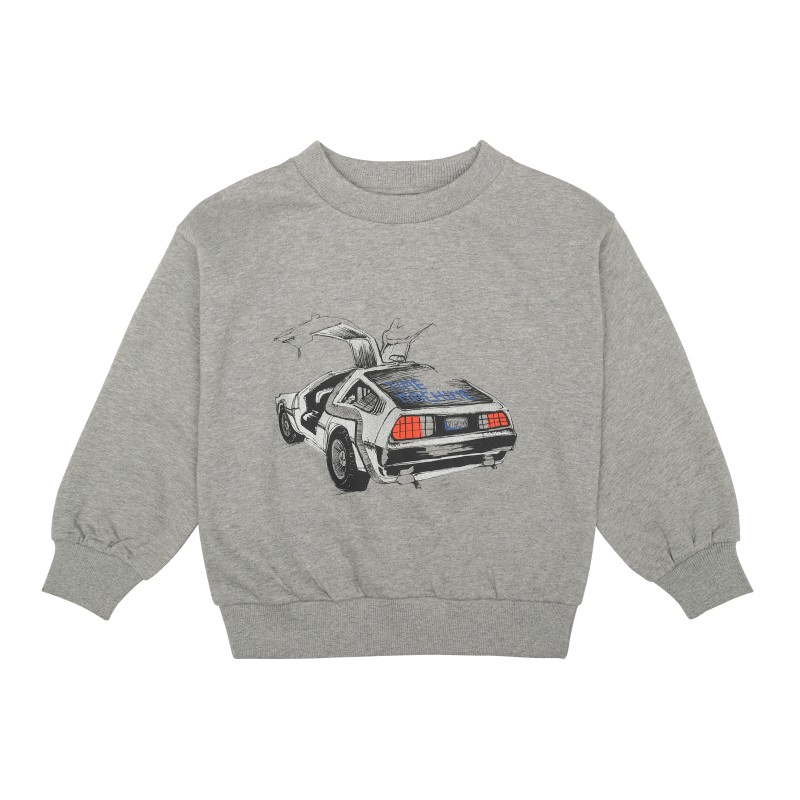 Soft Gallery Kids Drew Sweatshirt Grey Melange