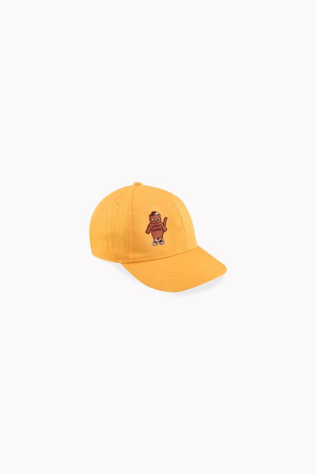 Tinycottons Cat Cap Yellow/Brown