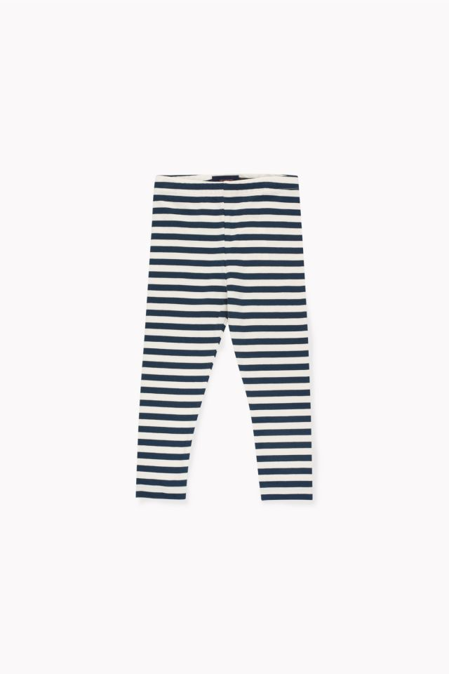 Tinycottons Stripes Cream/Navy