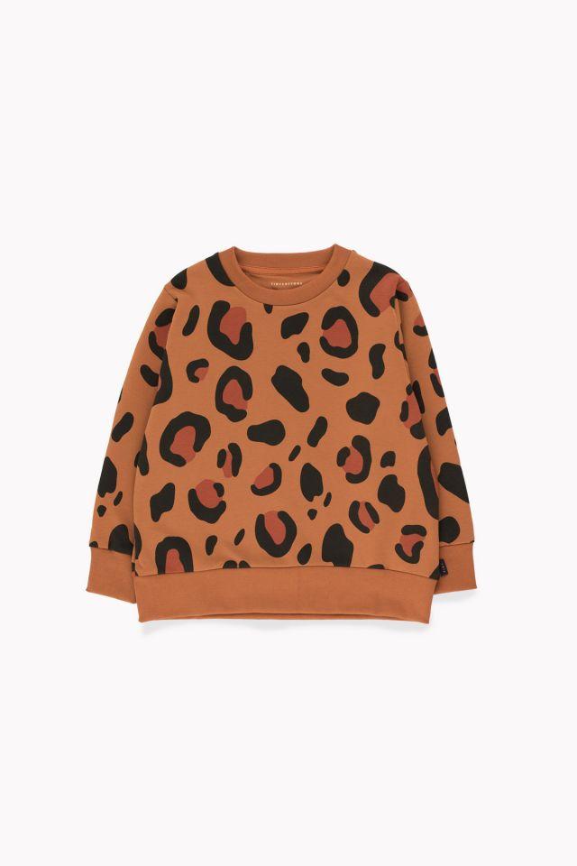 Tinycottons Animal Print Sweatshirt Brown/Dark Brown