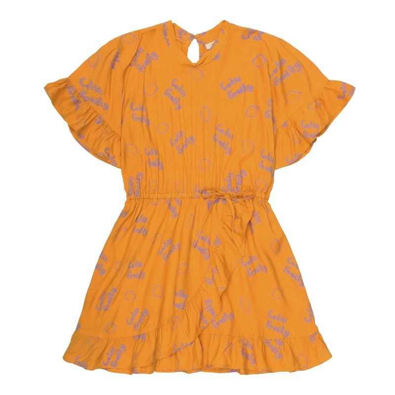 Soft Gallery Kids Dory Dress Sunflower