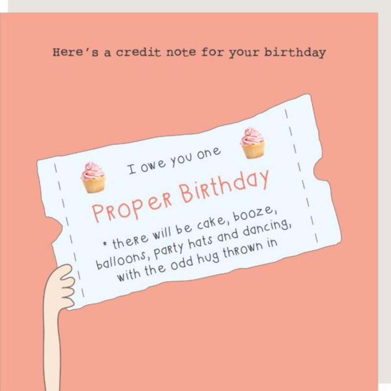 Birthday Credit (GF315)