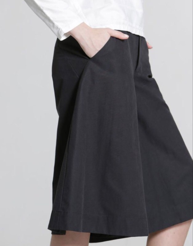Gaucho pants black