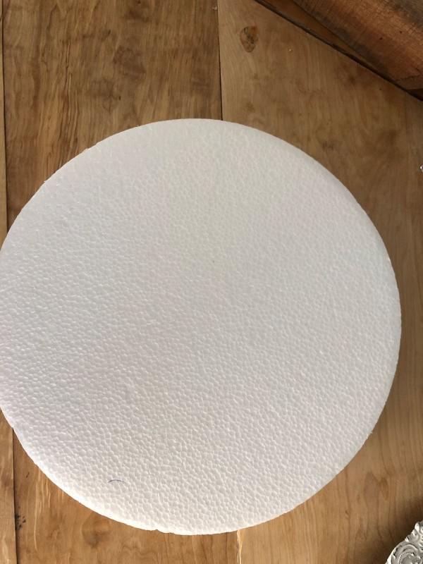 Styrofoam 29,5 utan hål Tjocklek 4cm