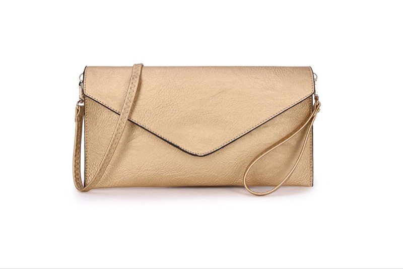 Envelope Clutch Bag - Gold