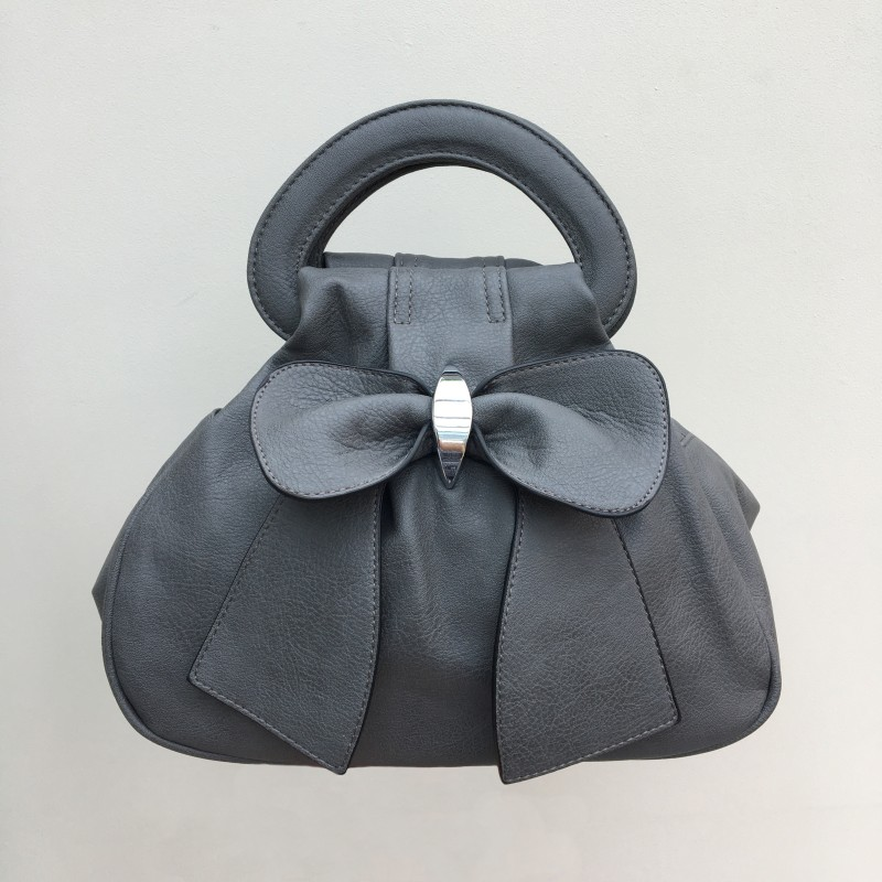 Bow Bag - Grey