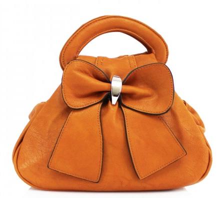 Bow Bag - Tan