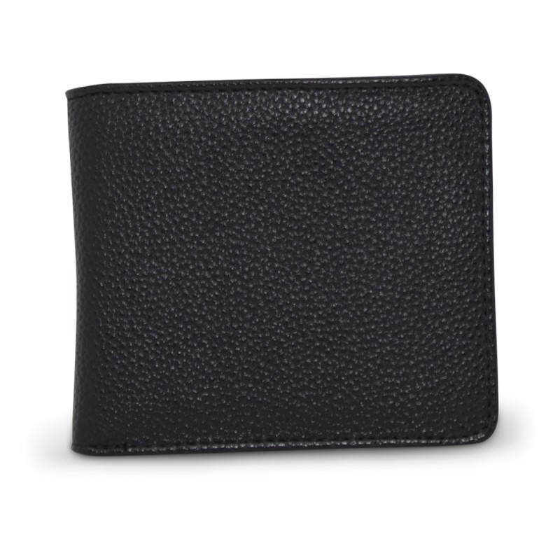 Classic Bi-Fold Wallet - Black