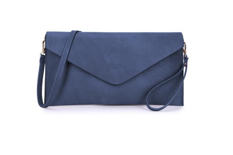 Envelope Clutch Bag - Navy