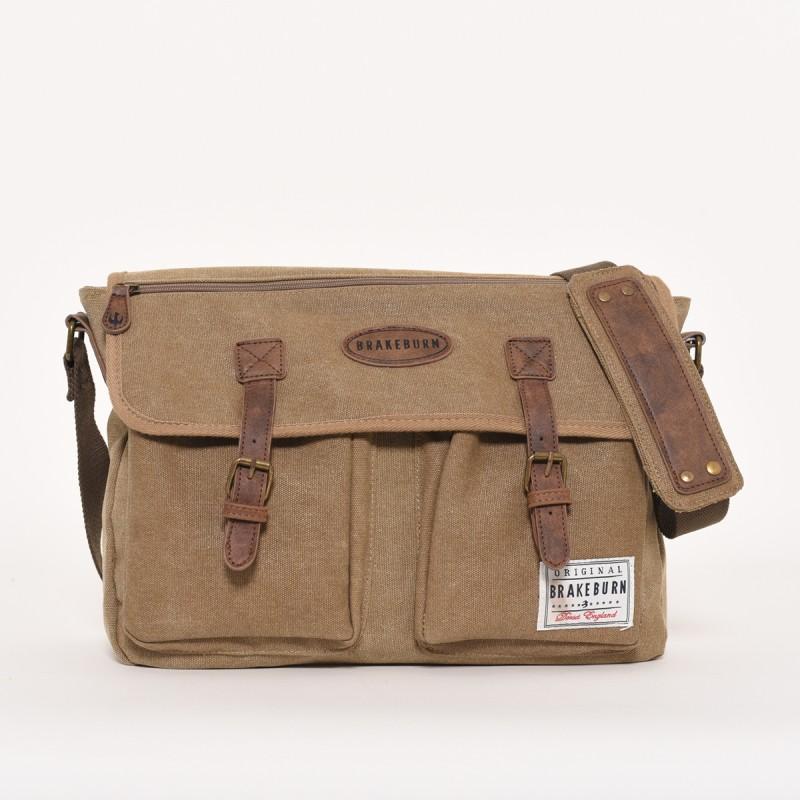 Brakeburn Canvas Messenger Bag
