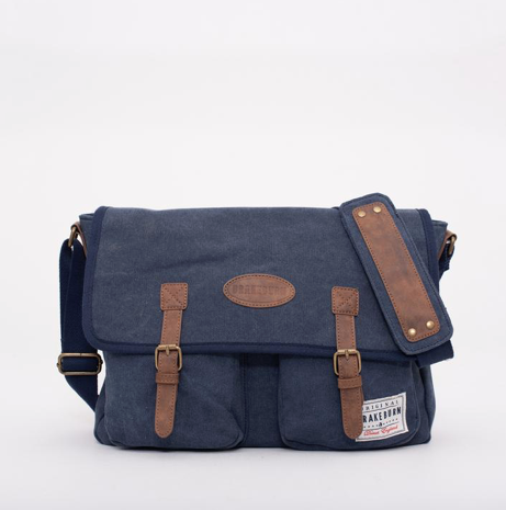 Brakeburn Men's Messenger Bag - Navy