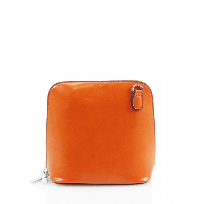 Oyster Cross Body Handbag - Orange