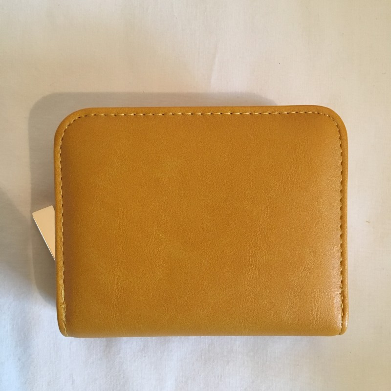 Tri-Section Purse - Mustard