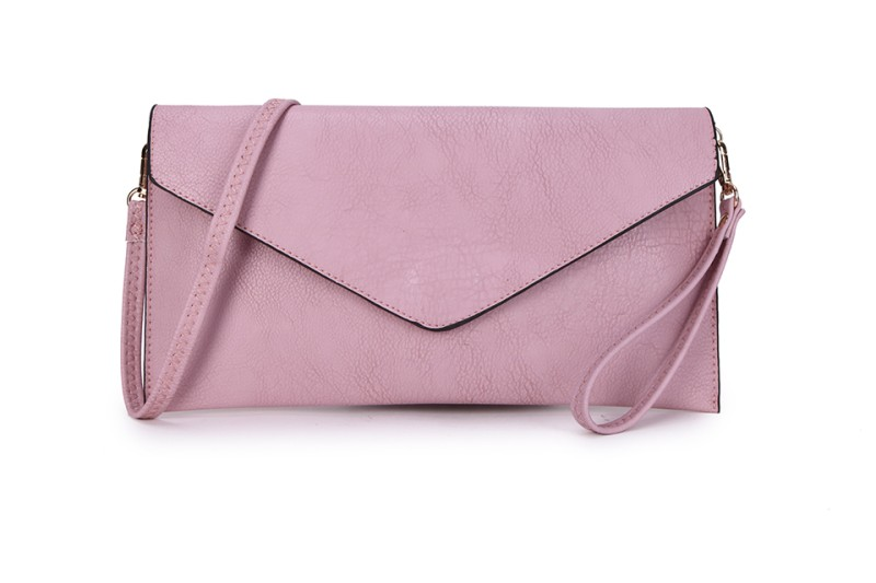 Envelope Clutch Bag - Dusky Pink
