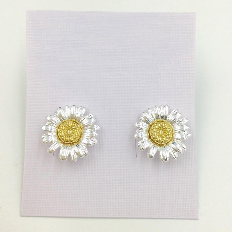 Daisy Earrings - Gold/Silver