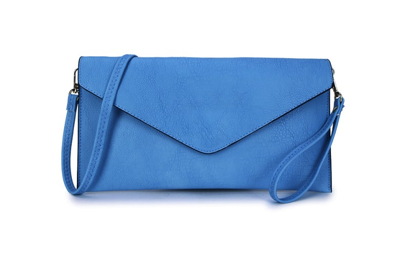 Envelope Clutch Bag - Marine Blue