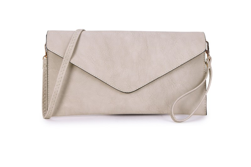 Envelope Clutch Bag - Beige