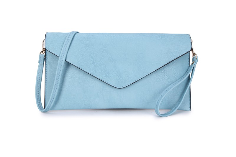Envelope Clutch Bag - Light Blue