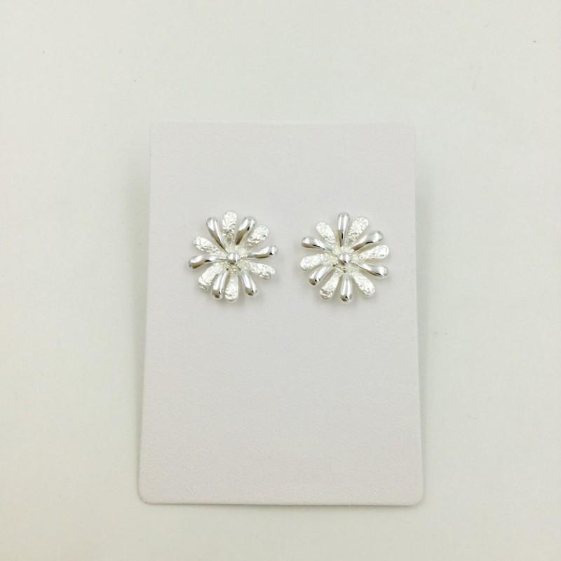 Daisy Circle Earrings
