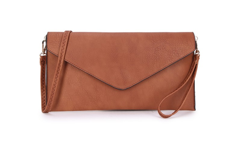 Envelope Clutch Bag - Tan