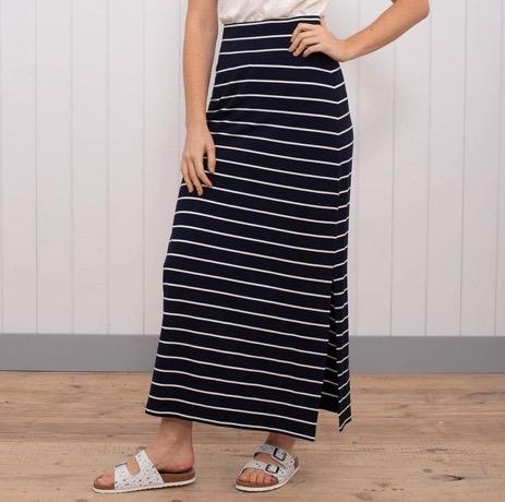 Brakeburn Stripe Maxi Skirt