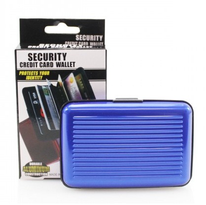 Security Card Wallet - Blue