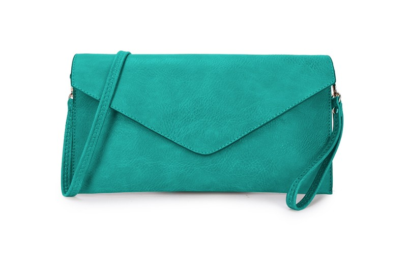 Envelope Clutch Bag - Teal