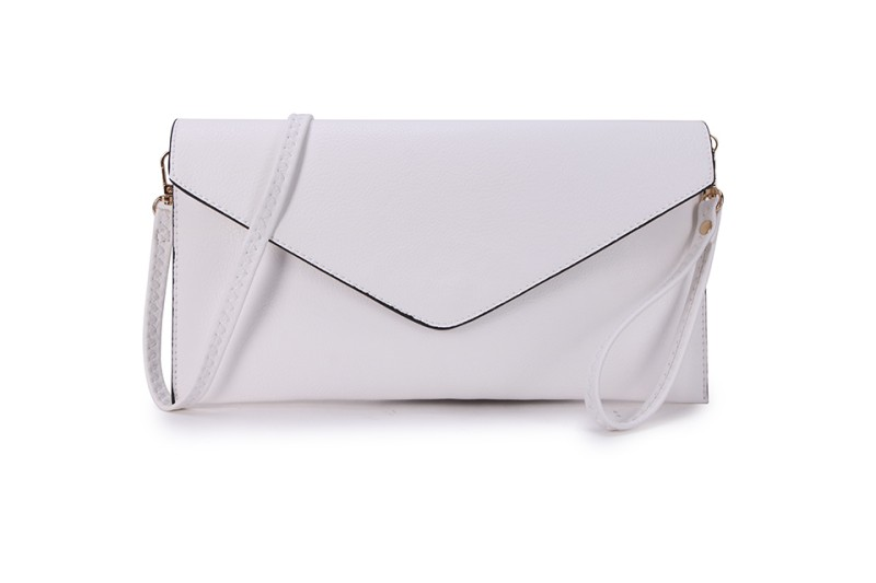 Envelope Clutch Bag - White