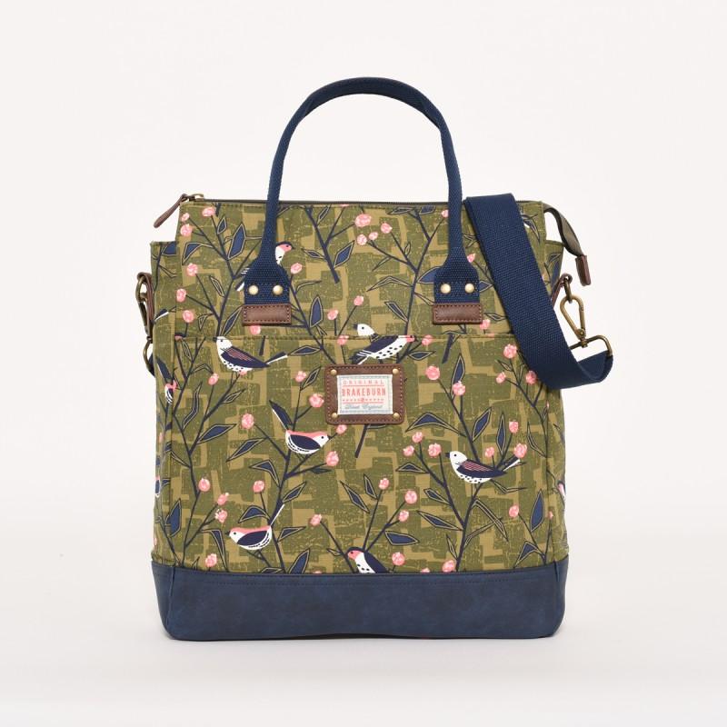 Brakeburn Bird Song Shopper Bag
