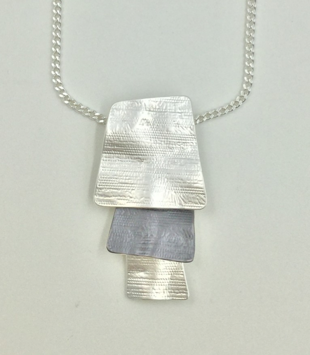 Layered Rectangles Necklace