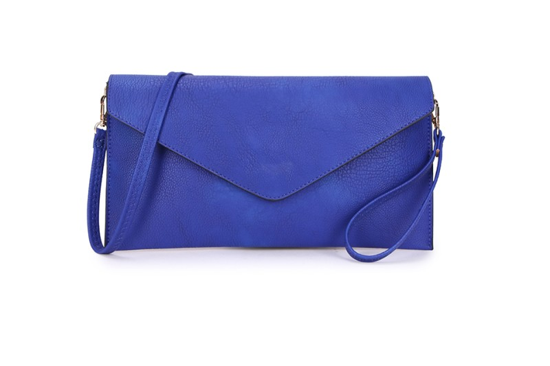 Envelope Clutch Bag - Royal Blue