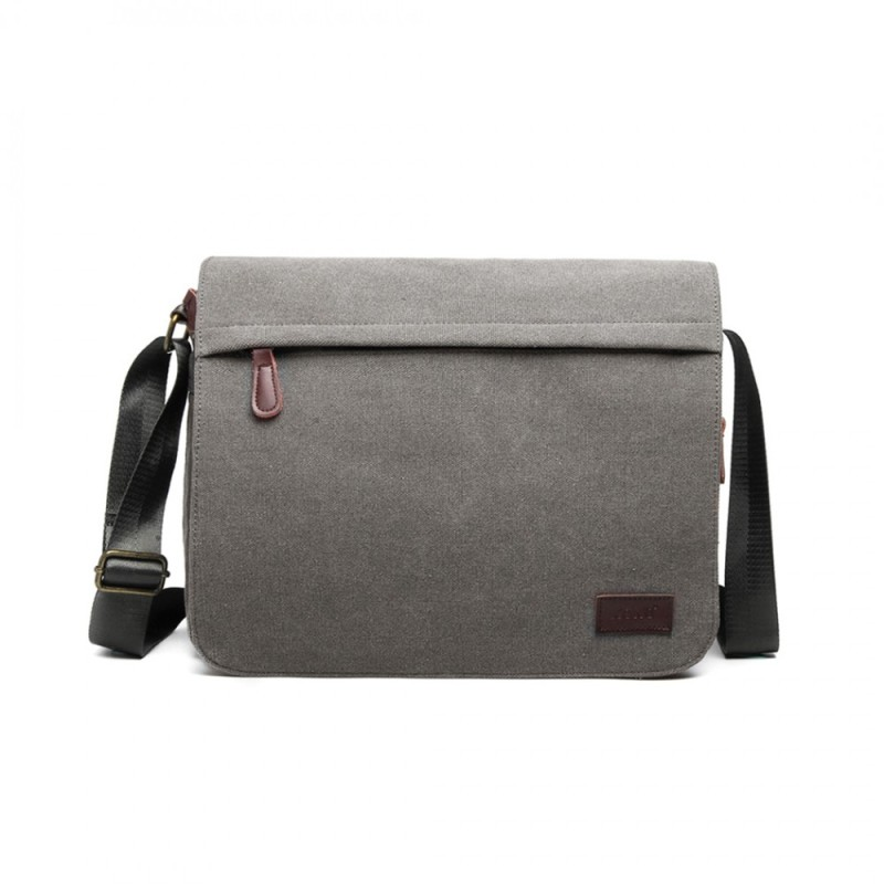 Kono Messenger Laptop Bag - Grey