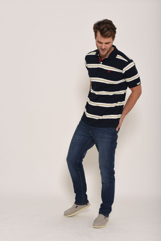 Brakeburn Club Polo Shirt - Navy