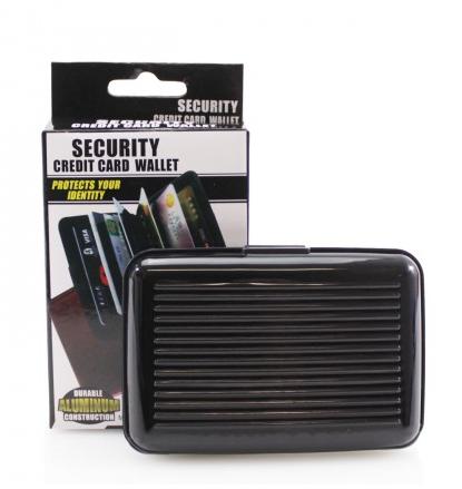 Security Card Wallet - Black