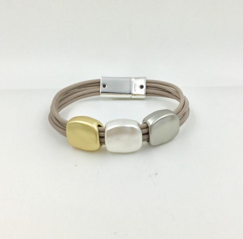 Warm Tone Magnetic Bracelet
