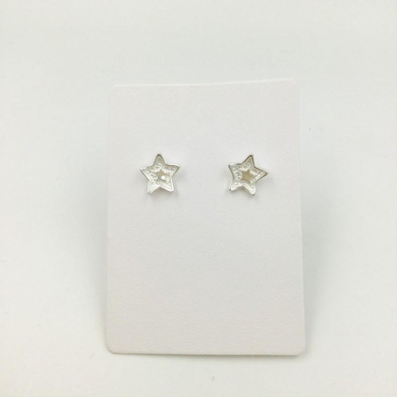 Layered Star Stud Earrings