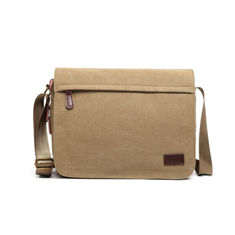Kono Messenger Laptop Bag - Khaki