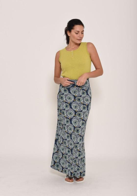 Brakeburn Apple Maxi Skirt